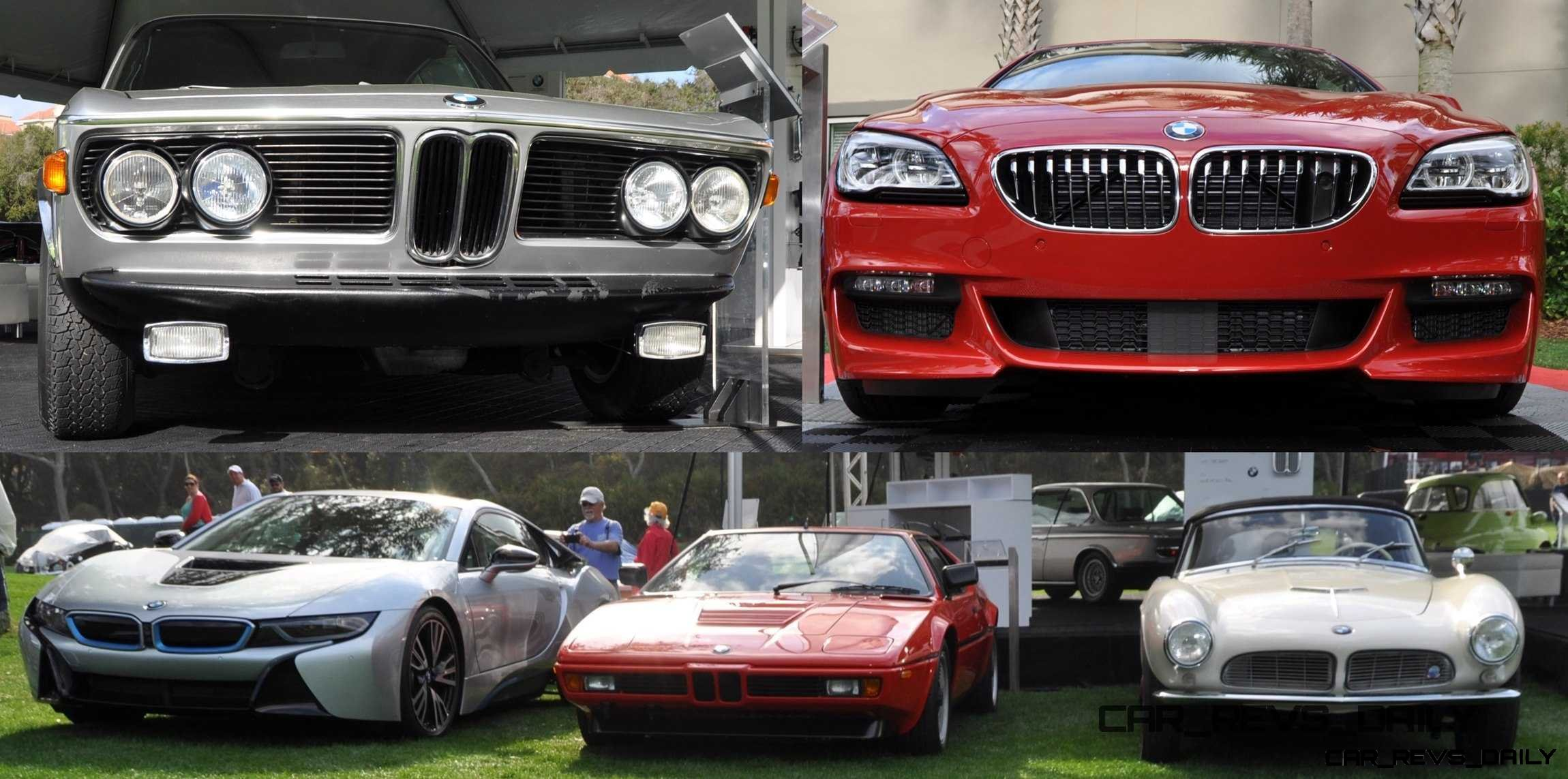Amelia Island 2015 – BMW Brings 507, M1, CSL and Targa Tii To Join 2015 X5 M and New 650i M Sport