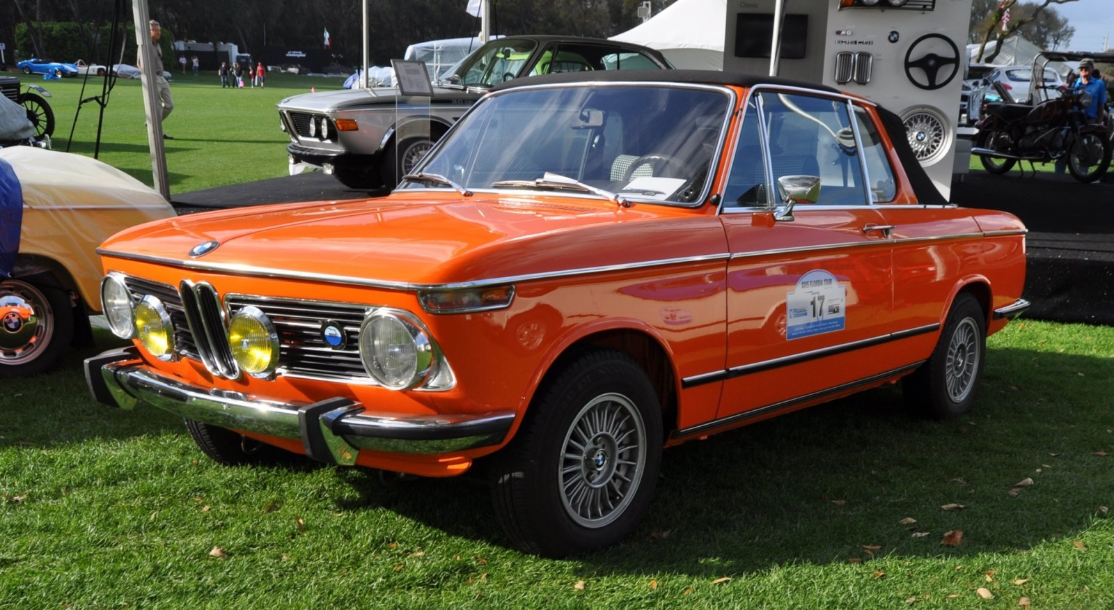 Amelia Island 2015 - BMW Brings 507, M1, CSL and tii To Join 2015 X5 M and 2015 650i M Sport 32