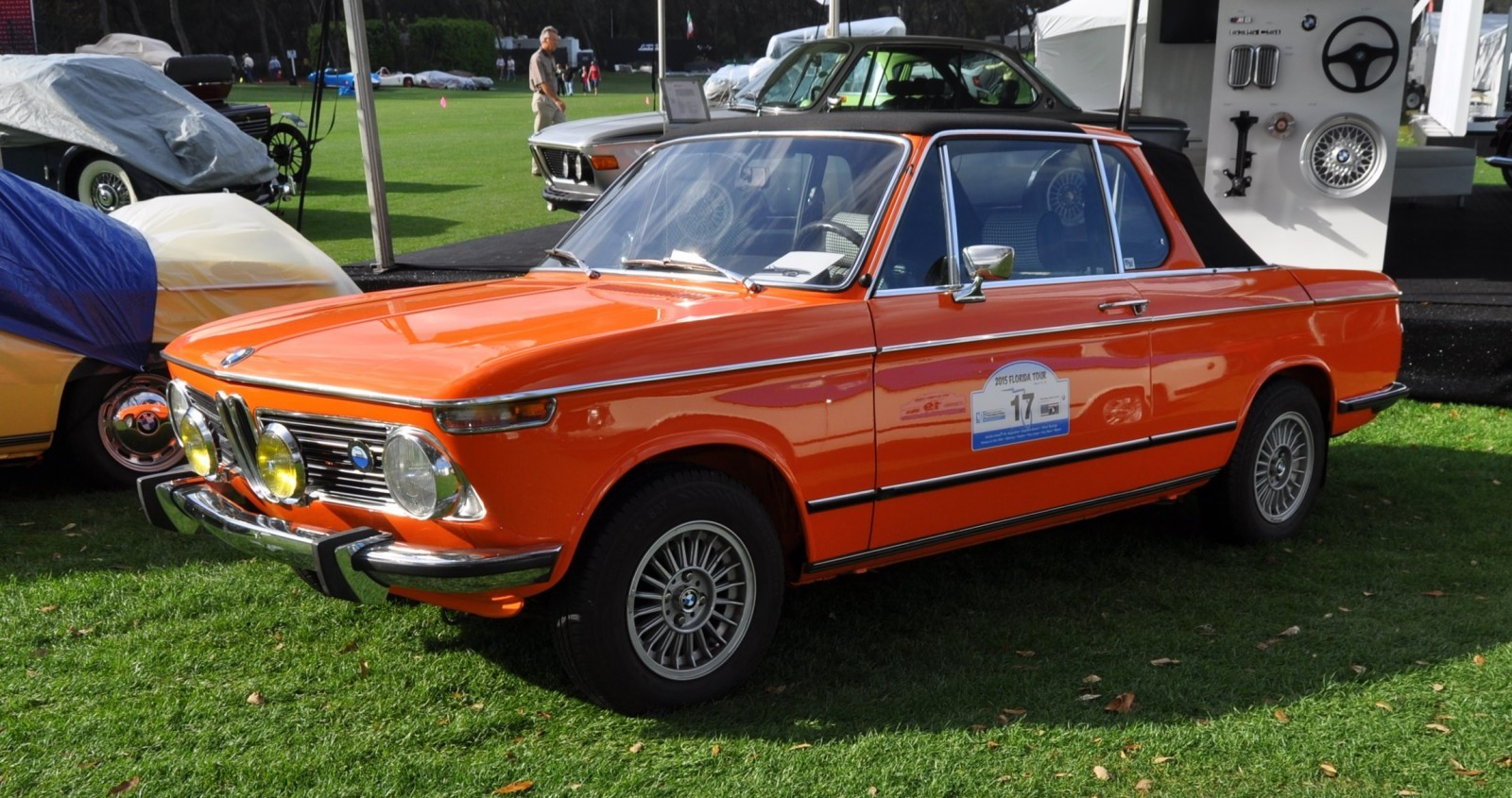 Amelia Island 2015 - BMW Brings 507, M1, CSL and tii To Join 2015 X5 M and 2015 650i M Sport 33