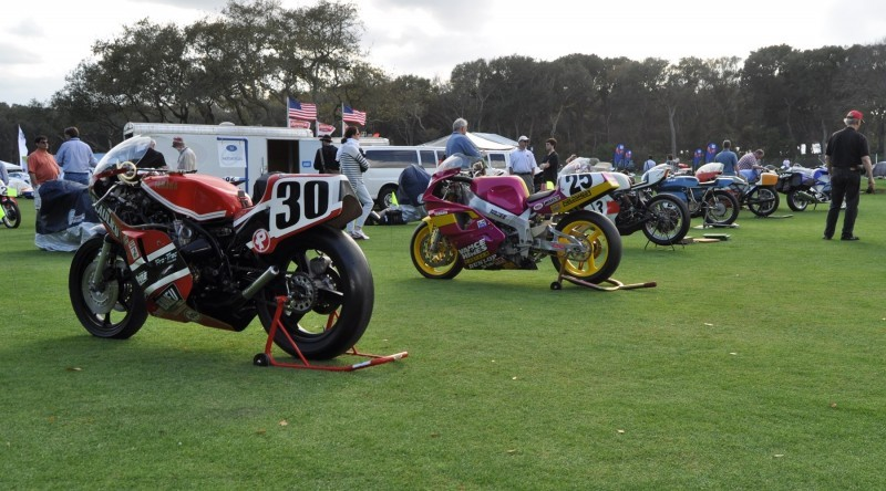 Amelia Island 2015 Concours Motorcycles Class 1