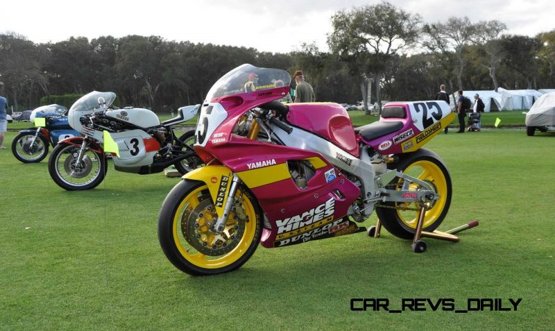 Amelia Island 2015 Concours Motorcycles Class 11