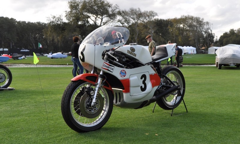 Amelia Island 2015 Concours Motorcycles Class 17