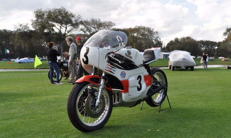 Amelia Island 2015 Concours Motorcycles Class 18
