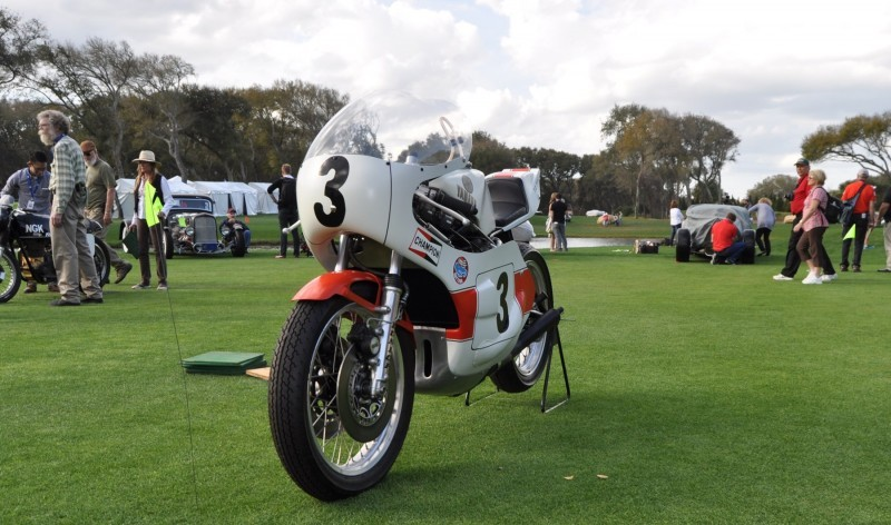 Amelia Island 2015 Concours Motorcycles Class 19