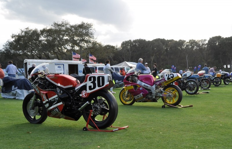 Amelia Island 2015 Concours Motorcycles Class 2