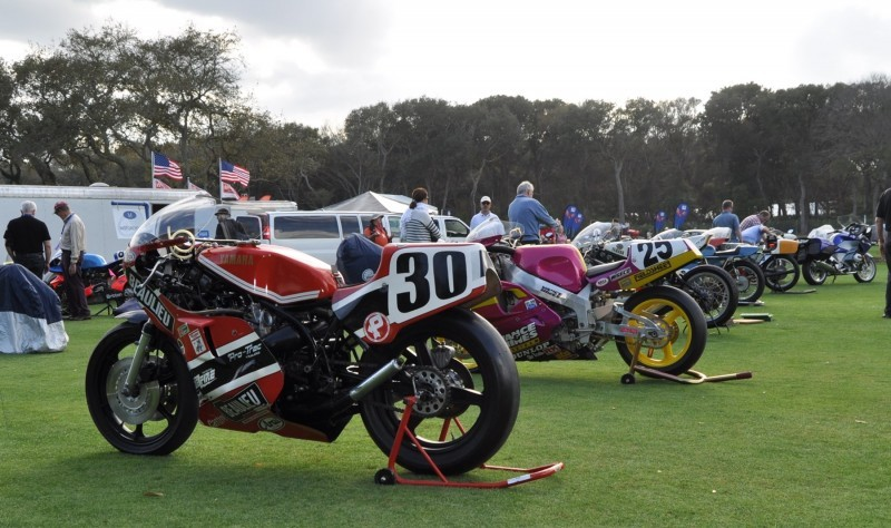 Amelia Island 2015 Concours Motorcycles Class 3