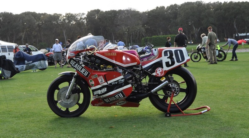 Amelia Island 2015 Concours Motorcycles Class 5