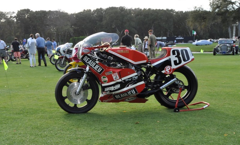 Amelia Island 2015 Concours Motorcycles Class 6