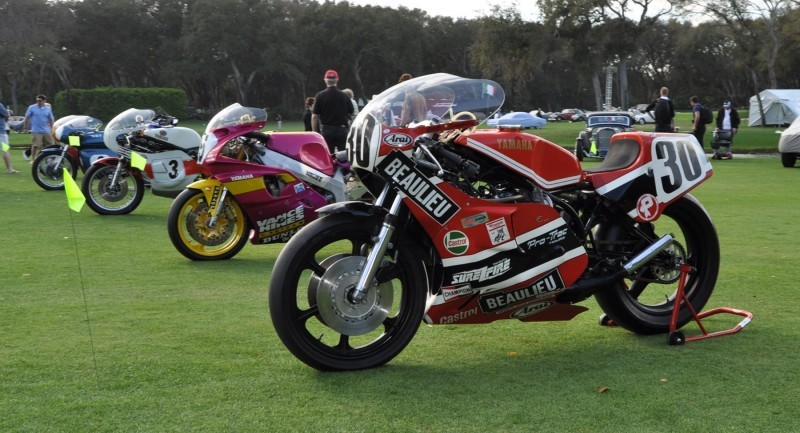 Amelia Island 2015 Concours Motorcycles Class 7