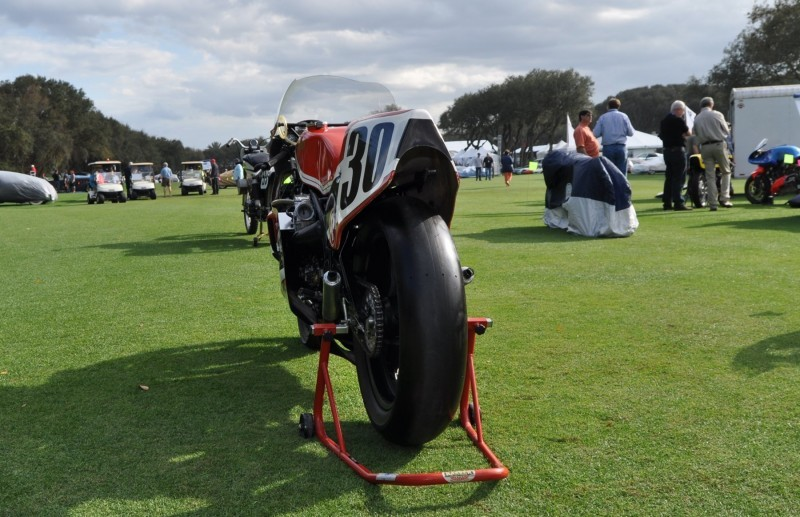 Amelia Island 2015 Concours Motorcycles Class 78