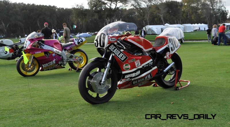 Amelia Island 2015 Concours Motorcycles Class 8