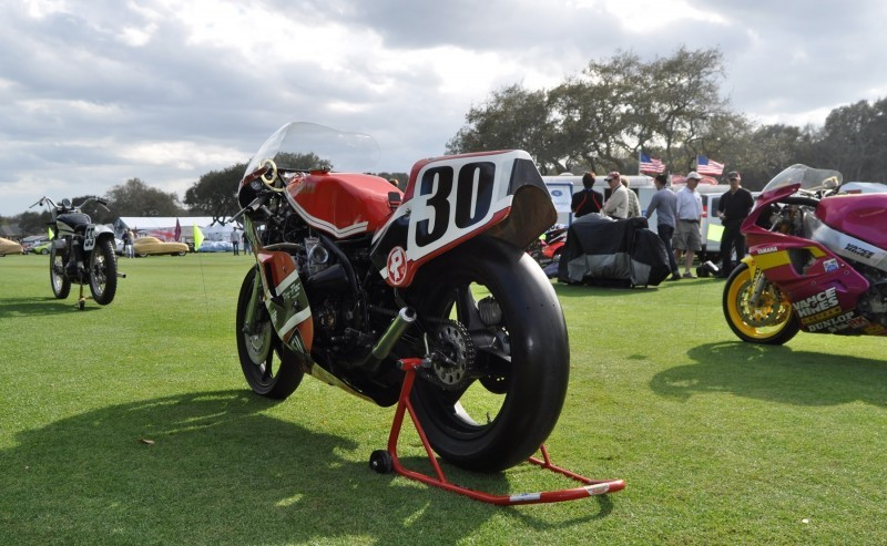 Amelia Island 2015 Concours Motorcycles Class 80