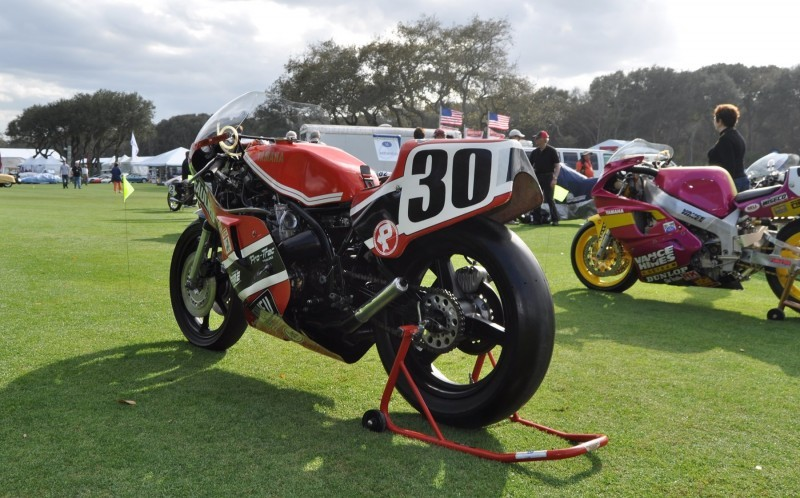 Amelia Island 2015 Concours Motorcycles Class 81