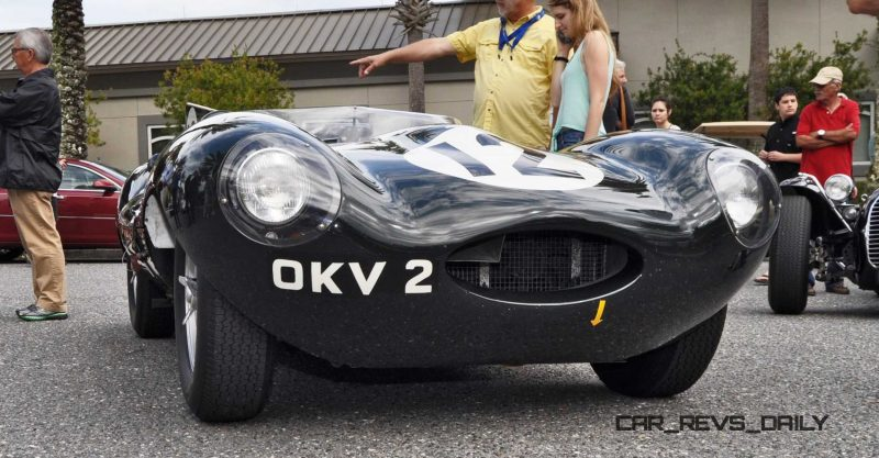 Amelia Island 2015 Galleries - 1954 Jaguar D-Type 1
