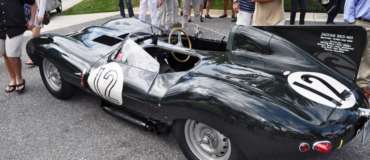 Amelia Island 2015 Galleries - 1954 Jaguar D-Type 28