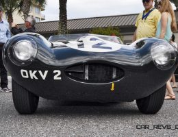 Amelia Island 2015 Galleries – 1954 Jaguar D-Type Factory Team Racecar XKD403