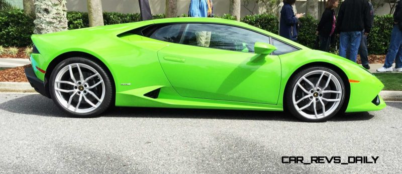 Amelia Island - 2015 Lanborghini HURACAN Verde Mantis in 50 New Photos 10
