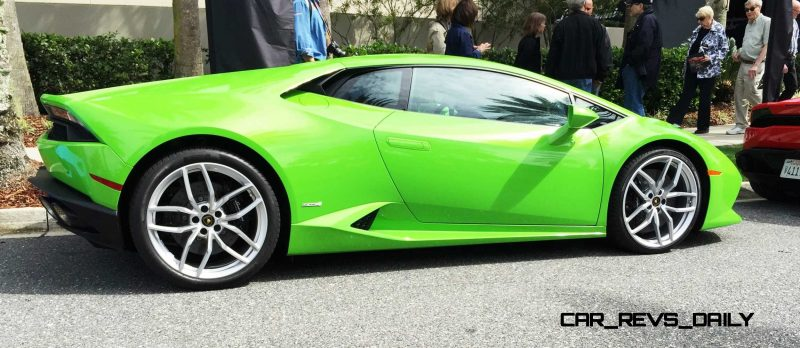 Amelia Island - 2015 Lanborghini HURACAN Verde Mantis in 50 New Photos 13