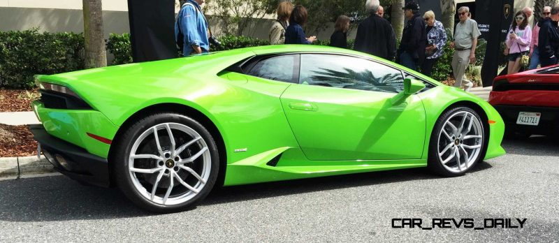 Amelia Island - 2015 Lanborghini HURACAN Verde Mantis in 50 New Photos 14