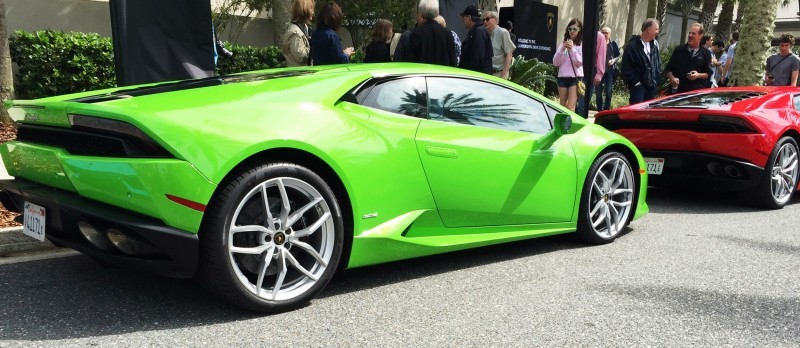 Amelia Island - 2015 Lanborghini HURACAN Verde Mantis in 50 New Photos 16