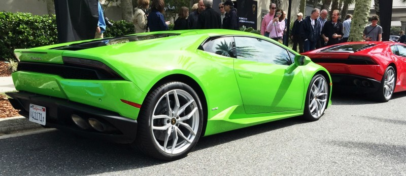 Amelia Island - 2015 Lanborghini HURACAN Verde Mantis in 50 New Photos 17