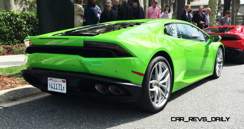 Amelia Island - 2015 Lanborghini HURACAN Verde Mantis in 50 New Photos 18