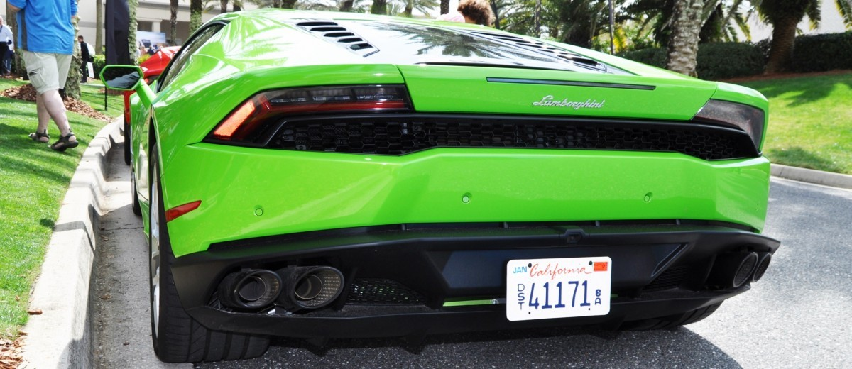 Amelia Island - 2015 Lanborghini HURACAN Verde Mantis in 50 New Photos 23