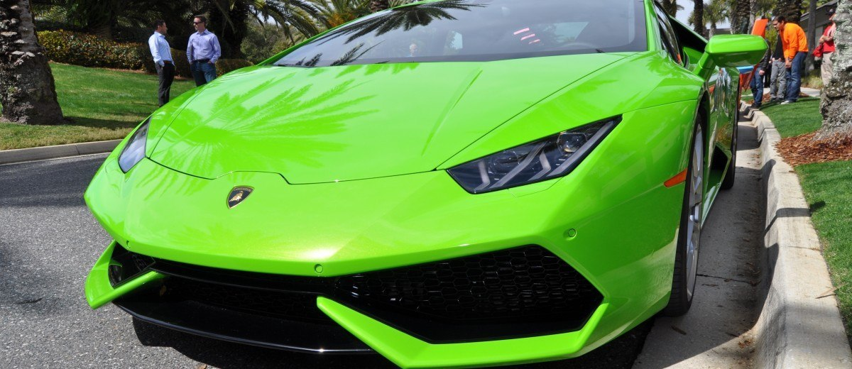 Amelia Island - 2015 Lanborghini HURACAN Verde Mantis in 50 New Photos 26