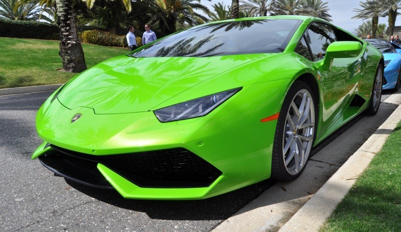 Amelia Island - 2015 Lanborghini HURACAN Verde Mantis in 50 New Photos 27