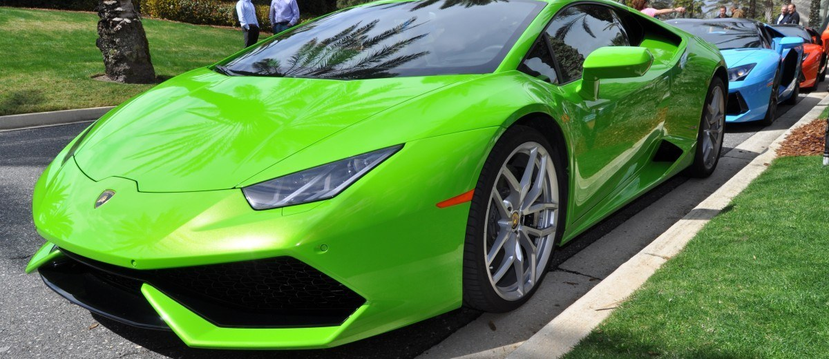 Amelia Island - 2015 Lanborghini HURACAN Verde Mantis in 50 New Photos 28