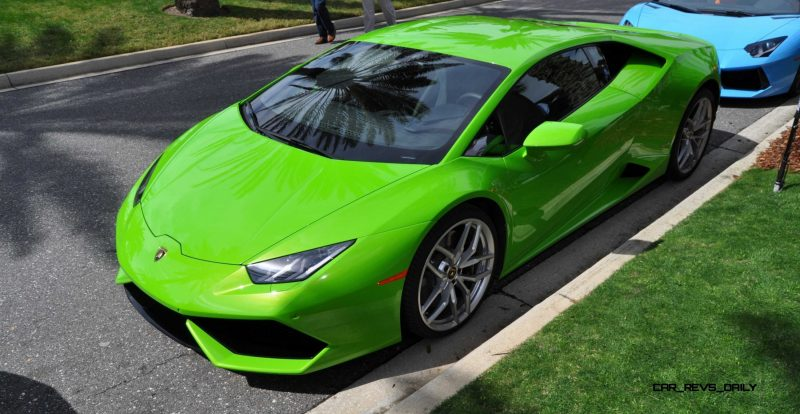 Amelia Island - 2015 Lanborghini HURACAN Verde Mantis in 50 New Photos 30