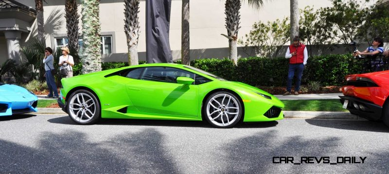 Amelia Island - 2015 Lanborghini HURACAN Verde Mantis in 50 New Photos 32