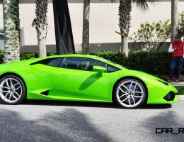Amelia Island – 2015 Lamborghini HURACAN Verde Mantis in 50 New Photos