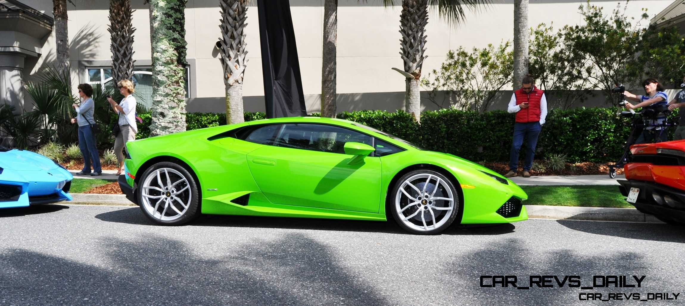 Amelia Island - 2015 Lanborghini HURACAN Verde Mantis in 50 New Photos 33