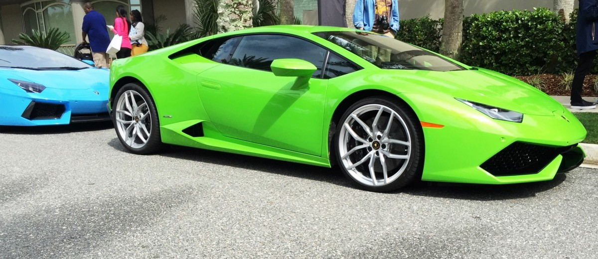Amelia Island - 2015 Lanborghini HURACAN Verde Mantis in 50 New Photos 4