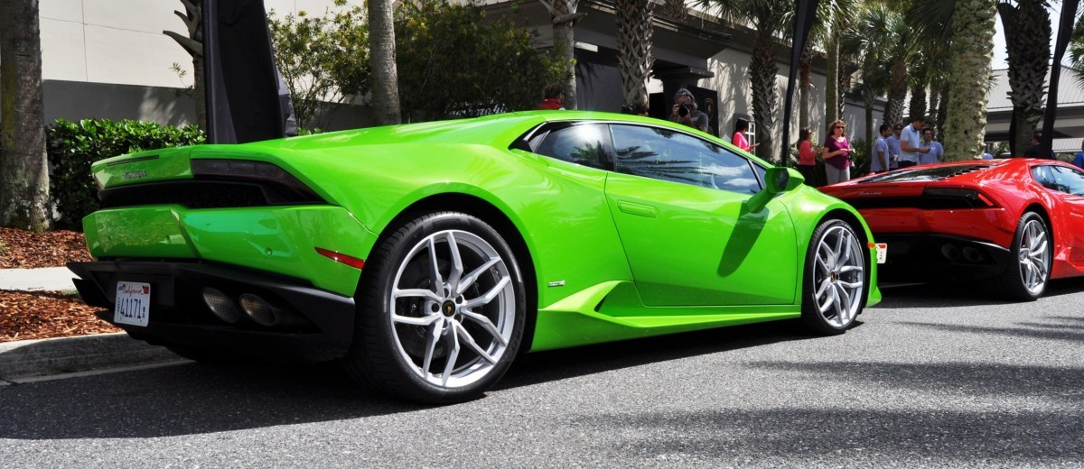 Amelia Island - 2015 Lanborghini HURACAN Verde Mantis in 50 New Photos 40