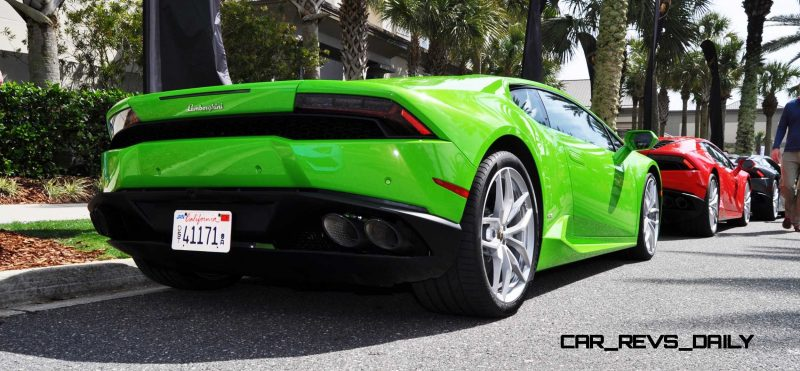 Amelia Island - 2015 Lanborghini HURACAN Verde Mantis in 50 New Photos 43