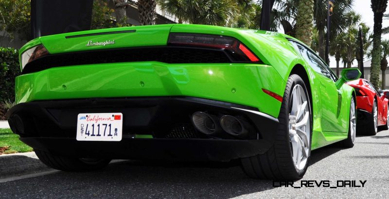 Amelia Island - 2015 Lanborghini HURACAN Verde Mantis in 50 New Photos 44