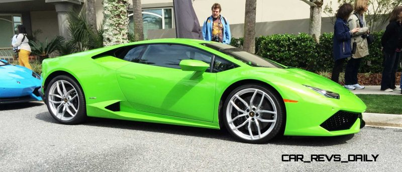 Amelia Island - 2015 Lanborghini HURACAN Verde Mantis in 50 New Photos 6