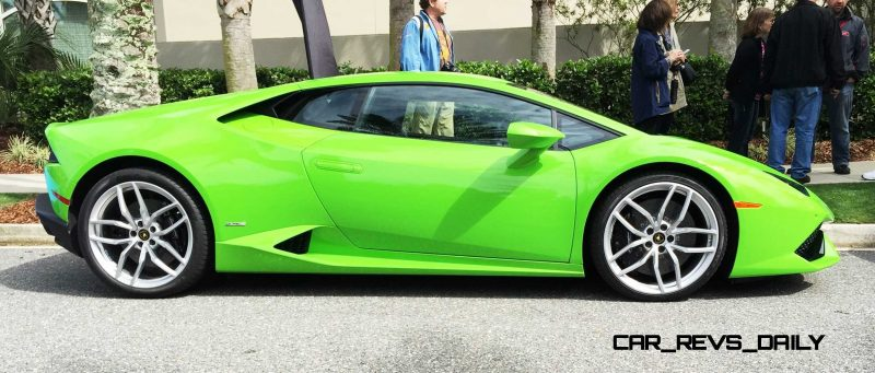 Amelia Island - 2015 Lanborghini HURACAN Verde Mantis in 50 New Photos 9