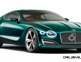 2015 Bentley EXP10 Speed6 Concept Previews Future 2-Seater Based on Panamera Platform