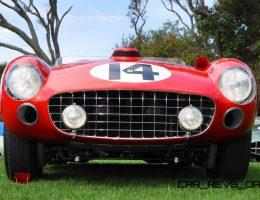 1956 Ferrari 290MM Wins Amelia Island Concours 2015 Chairmans Trophy