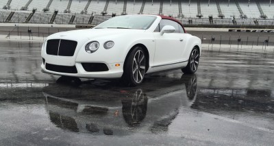 First Drive Review - 2015 Bentley Continental GT V8S - White Satin 10