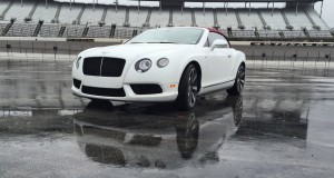 First Drive Review - 2015 Bentley Continental GT V8S - White Satin 11