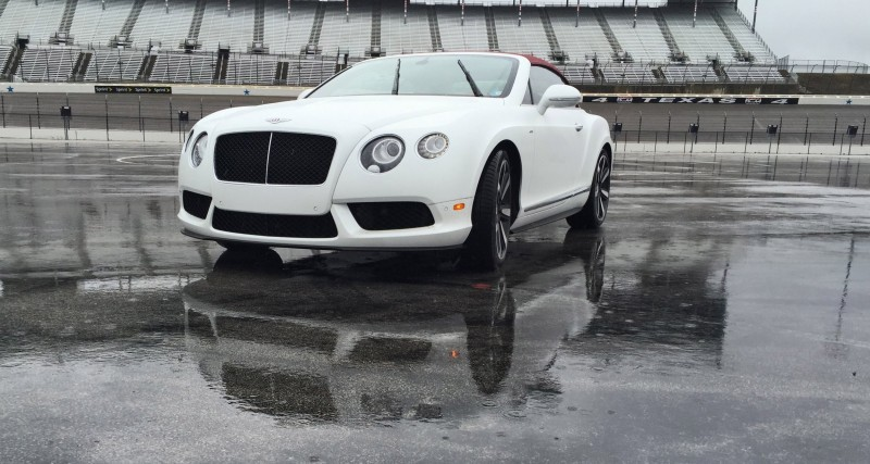First Drive Review - 2015 Bentley Continental GT V8S - White Satin 12