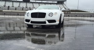 First Drive Review - 2015 Bentley Continental GT V8S - White Satin 13