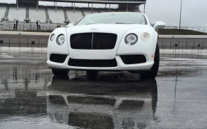 First Drive Review - 2015 Bentley Continental GT V8S - White Satin 14