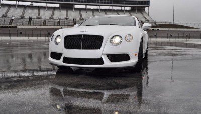 First Drive Review - 2015 Bentley Continental GT V8S - White Satin 15