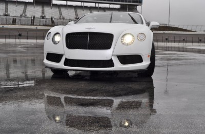 First Drive Review - 2015 Bentley Continental GT V8S - White Satin 17