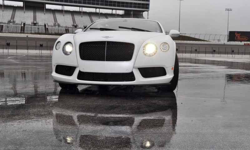 First Drive Review - 2015 Bentley Continental GT V8S - White Satin 18